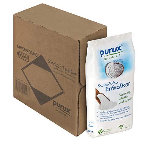 Purux Entkalker Swiss Turbo, 1kg Entkalkungsmittel nachhaltig verpackt