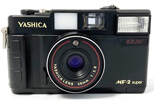 Yashica MF35 Super - Fotocamera analogica piccola da 35 mm, con batteria e pellicola