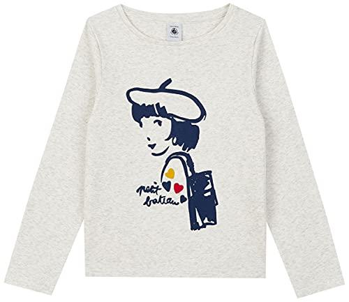 Petit Bateau Jungen A01RO T-Shirt, beige, 5 Jahre