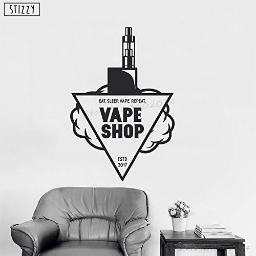 Tianpengyuanshuai vinyl muursticker roken afneembare zelfklevende decoratie poster