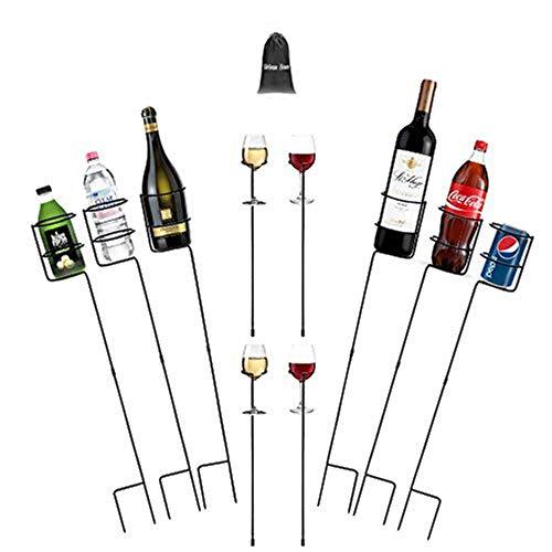 Urban Deco Heavy Duty Drink Holder Outdoor Drink Holders Drink Holder Yard Drink Holder Stakes, 6...