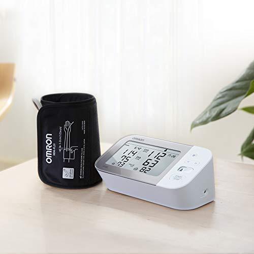 41YYzYxsOnL - Omron Tensiómetro X7 Smart, monitor para la presión arterial con detector de AFib y Bluetooth, para el hogar y, compatible con dispositivos iOS y Android