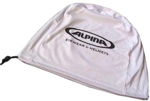 Helmbeutel Alpina weiß für Skihelme / Fahrradhelme