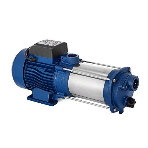 Preisvergleich Produktbild Anhon 1100-2200W Zentrifugal Booster Wasserpumpe mit Oder Ohne Schalter Hauswasserwerk 5100 L / h 1300 W Garten Jetpumpe Wasserpumpe Kreiselpumpe (MC-1100)
