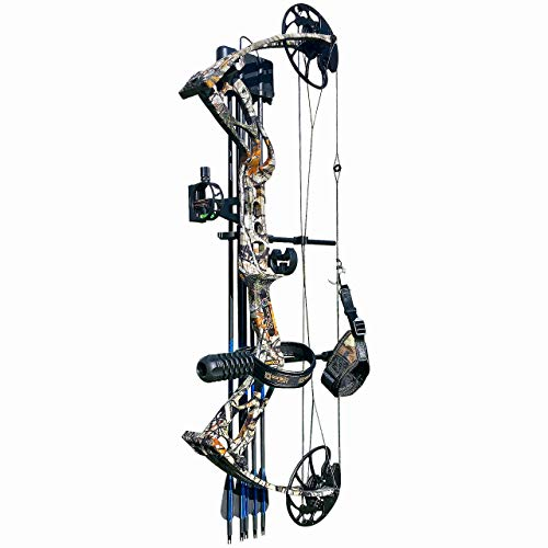 sanlida Archery Compound Bow and Arrow for Adults and Teens Dragon X8 Hunting Compound Bow Package/Limbs Made in USA/18-31 Draw Length/0-70Lbs Draw Weight - Up to 310FPS - 1 Year Warranty