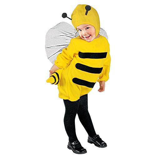 WIDMANN - Disfraz infantil de abeja, multicolor, 104 cm / 2 – 3 años, 36008