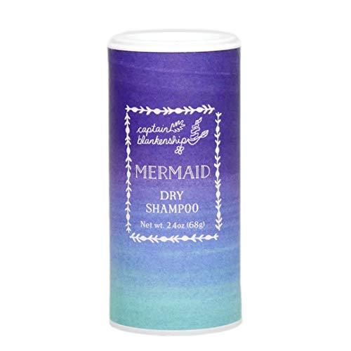Captain Blankenship Dry Shampoo Powder, Rose Scent, Absorbs Oil, Refreshes & Volumizes, 2.4oz
