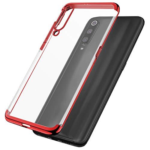mtb more energy® Schutz-Hülle Elegance für Alcatel 3X 2019 (6.52'') - rot - flexibel - TPU Hülle Cover Tasche Hülle