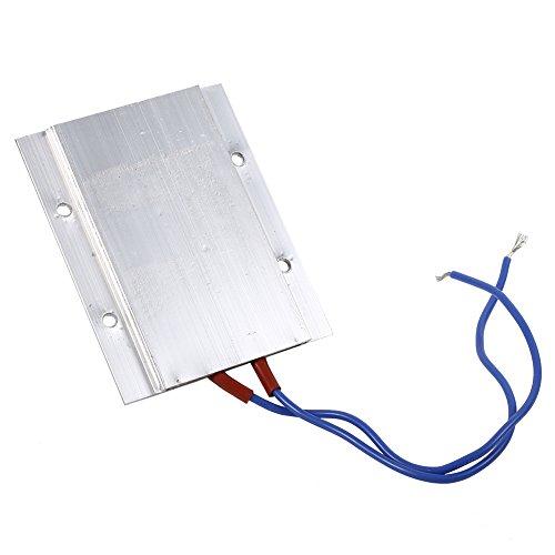 GOTOTOP Placa calefactora de termostato PTC, Calentador de Aire de Temperatura Constante Elemento Calefactor PTC de Alta Potencia 220 V 50 W/80 W/110 W(80W 150 ℃)