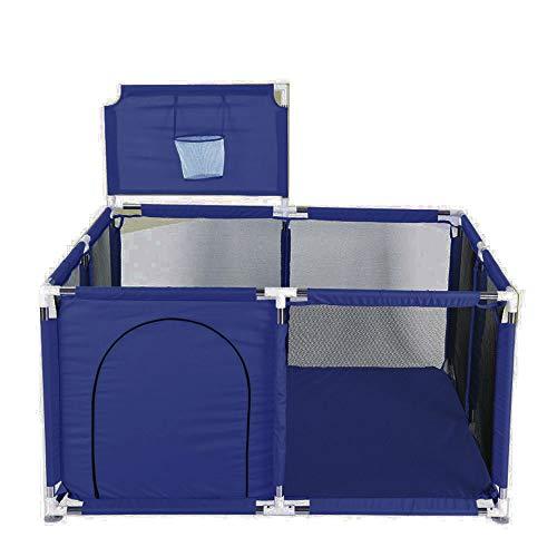 Tragbares Baby Bällebad Zelt Laufstall Spielzaun mit Basketballkorb, atmungsaktives Netzgewebe für drinnen und draußen, Säugling Kleinkind Kinder