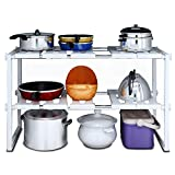 Expandable Rack Shelf for Under Sink. Organizers & storage for...