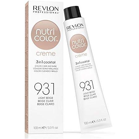 Revlon Nutri Color Creme Rubísimos, Tinte para el Cabello 931 Beige Claro - 100 ml
