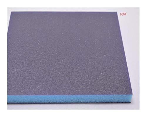 Sanding Sandpaper Sponge Brush 5 PCS Grit 120240320600 Sponge Sandpaper Double-sided Grinding Tool 140x120x12mm Sanding Sponge Block Polishing Sponge (Mesh : 600Grit 5pieces)