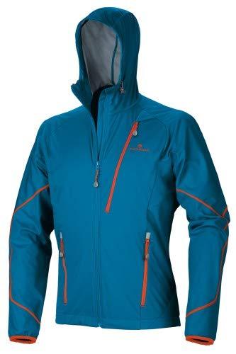 Ferrino Giacca Softshell Leggera e Antivento Alta traspirabilità Hoste Jacket Man (Bright Blue)
