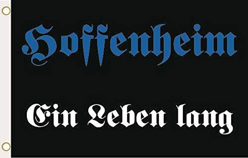 U24 Flagge Fahne Hoffenheim EIN Leben lang 90 x 150 cm