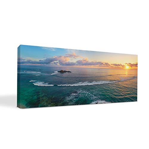 BuildASign Your Panoramic Photo on Custom Personalized Canvas Prints (12x36) 0.75' Wrap - Great Gift Idea by Easy Canvas Prints