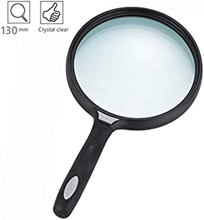Magnifying Glass 2.5X Handheld Magnifier Jumbo Magnifying Lens with Non-Slip Soft Handle for Seniors & Children Reading Book Newspaper Reading, Insect and Hobby Observation, Classroom Science (Jumbo)