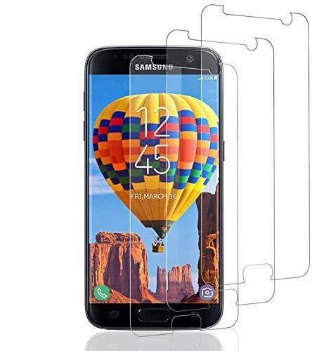Vetro Temperato per Samsung Galaxy S7 ,3 Pezzi, Pellicola Prottetiva Durezza 9H, Senza Bolle, Ultra Trasparente