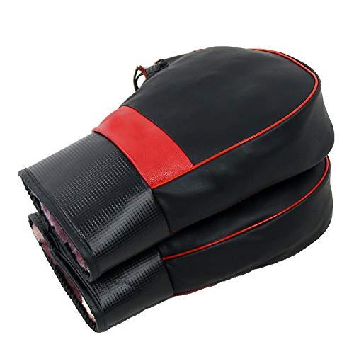 True-Ying manubrio moto guanti invernali antifreddo spessore caldo guanto antivento impermeabile Electromobile elettrico moto manubrio in pelle