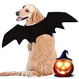 LIBRNTY Alas de Perro, Disfraz de Perro de murciélago de Halloween/Disfraces de Halloween para Mascotas para Perros medianos Grandes decoración de Cosplay