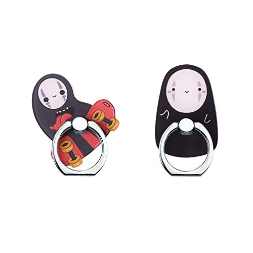Phone Ring Holder Stand,No Face Phone Ring Stand Holder 360 Rotation Finger Ring Grip Stand for Cellphones,Smartphones and Tablets