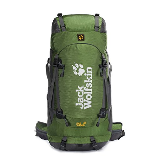 Sac d'escalade en plein air de grande capacité imperméable sac à dos en nylon randonnée pédestre sac à dos