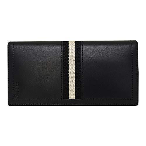 [バリー] BALLY バリー 財布 6166474 TALIRO 290 二つ折り長財布 折りたたみ 長財布 ウォレット ブラック T...