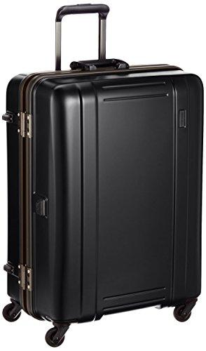 [シフレ] 軽量スーツケース ゼログラ 61cm 80L 4.2kg 中型サイズ ヒノモトキャスター ZEROGRA 68 cm マットブラック