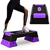 """Best Aerobic Steppers - Goplus 30'' Aerobic Stepper with Risers, 5"""" 7"""" Review"""