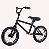 T-XYD Pas de pédale de vélo pour Enfant 16 Pouces Draisienne Marche Formation Anti-dérapant Résistant aux Chocs en Acier au Carbone magnésium Cadre en Alliage,Carbonsteel