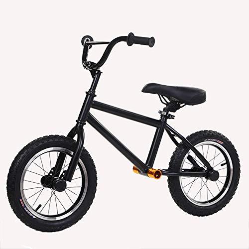T-XYD Kinderfiets Geen Pedaal 14 Inch voor 3-6 Jaar (Hoogte 88-120 Cm) Lichtgewicht Koolstofstaal Frame met Sterke Lager Capaciteit