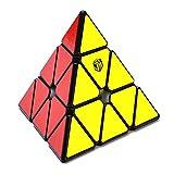 XMD ピラミンクス Magic Cube 三角形 魔方【磁石内蔵】立体パズル 脳トレ おもちゃ Magnetic Pyraminx V1M (ステッカー)