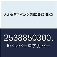 メルセデスベンツ(MERCEDES BENZ) Rバンパーロアカバー 2538850300.