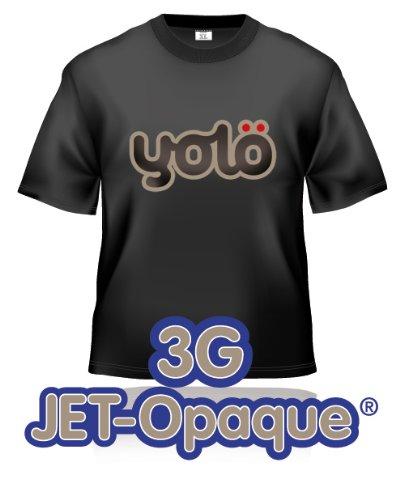 3 x A4 hojas por 3 G inyección de tinta Jet-opaco papel de transferencia/de rulos para unidades T-Shirt