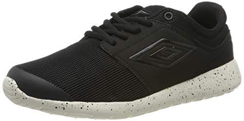 UMBRO Herren Aytoun Ii Sneakers, Schwarz (Black/Black/Off White Evm), 42 EU
