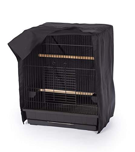 RLQ Vogelkäfig-Abdeckung, leicht Winddicht wasserdicht für Quadrat-Rahmen-Crate, Schlafhelfer Shell-Schild für Haustier-Vogel,L