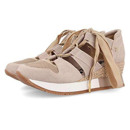 Gioseppo SAVOCA, Zapatillas sin Cordones para Mujer, Beige (Beig Beig), 38 EU