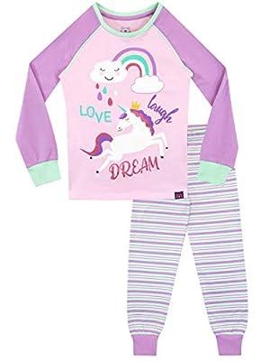 Harry Bear Pijamas para niñas Unicornio Ajuste Ceñido Rosa 4-5 Años