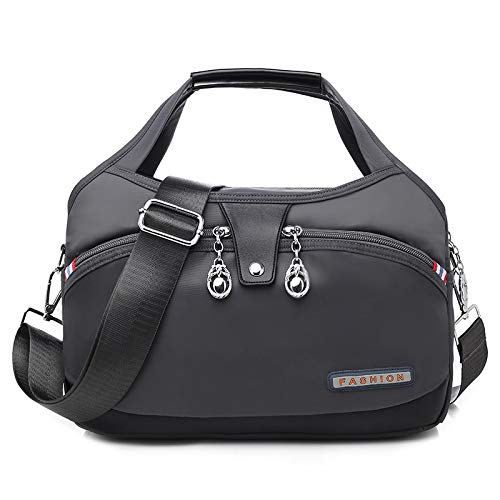 CMZ Backpack Fashion Oxford Cloth Large Capacity Shoulder Bag Ladies Casual Light Outdoor Travel Portable Crossbody Bag