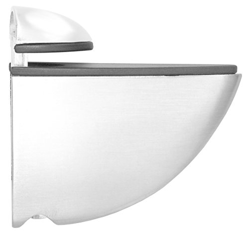 Element System Regalbodenträger Selecta, 2 Stück, Glas-Holzbodenträger, weiß, 5 Farben, 11053-00000