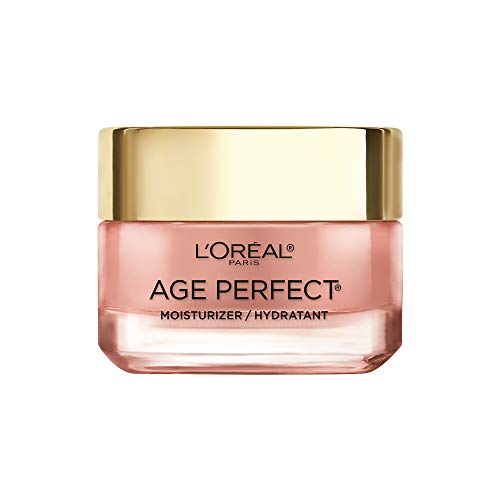 41YZBC+k2ML - Face Moisturizer by L'Oreal Paris Skin Care I Age Perfect Rosy Tone Moisturizer for Visibly Younger Looking Skin I Anti-Aging Day Cream I 1.7 oz. - Packaging May Vary