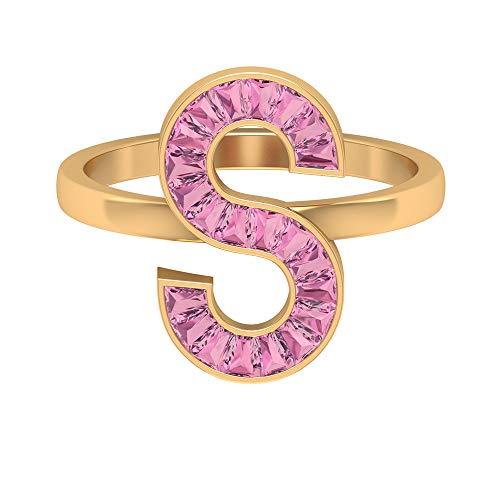Rosec Jewels - 14 Kt Gelbgold Taper Pink Turmaline