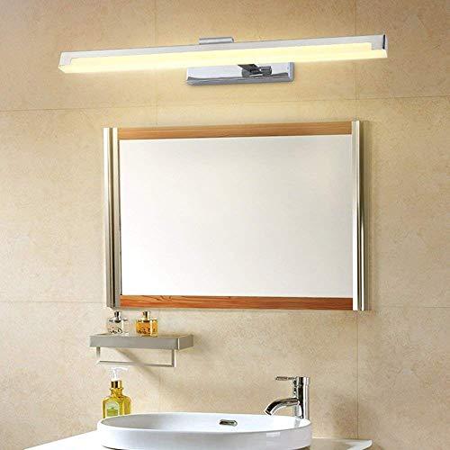 XCJ Espejo Faros Moderno Minimalista Led Impermeable Niebla Cuarto de baño Espejo de baño Luz IKEA Lámpara de Maquillaje Lámpara de Pared