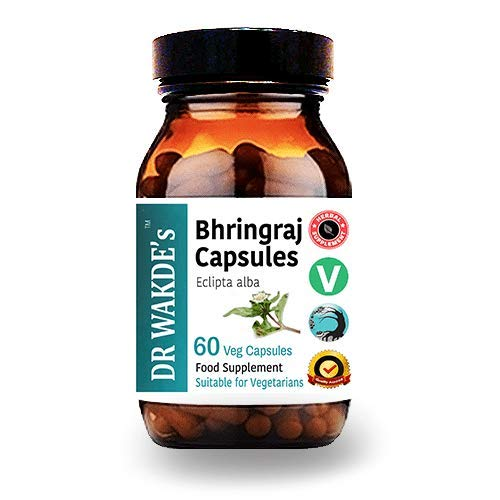 Bhringraj Capsules (Eclipta alba/False Daisy)