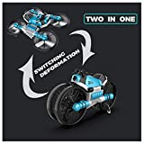 Best Drones With Fpvs - Oksale 2-In-1Motorcycle&Drone with Camera for Beginner and Kids,WiFi Review