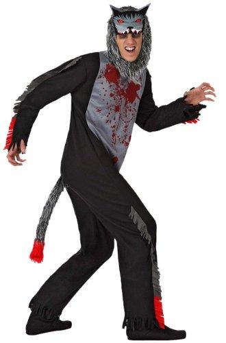 Atosa - 14910 - Costume - Déguisement - Loup Mort - Adulte - T-2