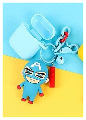 Xx101 Llaveros Lindo Superman Figuras Muñeca Llavero Bloqueo de Bloqueo Llavero Colgante para Mujer Bolsa Mochila Accesorios (Color : A1747 05)