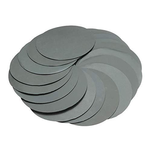 ZOYOSI 20 discos de lija de 150 mm de grano 3000