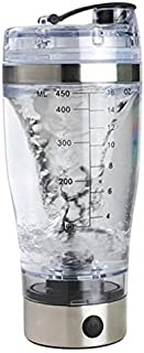 Iycorish 450Ml Electric Protein Shaker USB Shaker Bottles Milk Coffee Blender Water Bottle Movement Vortex Tornado Smart M...