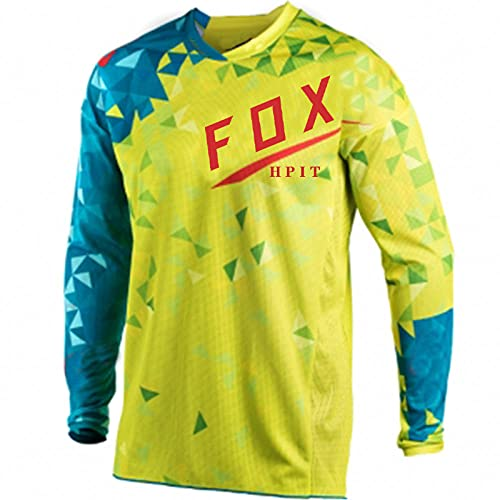 Cycling Enduro MTB Shirt Downhill T-Shirt Camiseta Motocross MX Mountain Bike Clothing 21 Fox Flexair Short Sleeve Jersey-XS